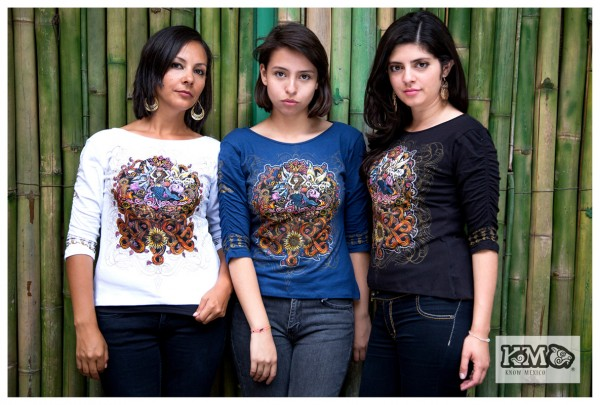 Damen Shirt aus Mexiko