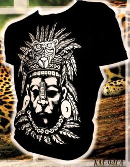 "T Shirt Herren aus Mexiko ""Jaguar"""