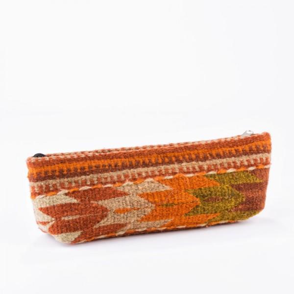 Kleine Handtasche Ethno Style für Stifte oder Make-up UNIKAT