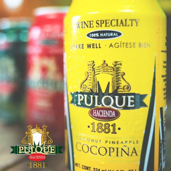 Pulque Dose 334ml mit Cocos -Ananasaft