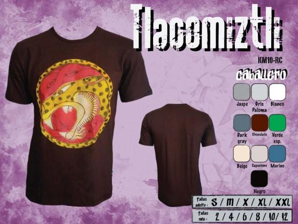 """T Shirt Herren aus Mexiko """"Tlacomiztli"""""""